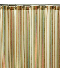 J. Queen New York Verona Stripe Shower Curtain