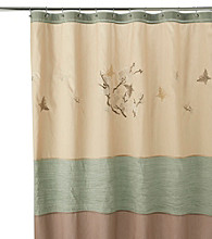 J. Queen New York Asian Blossom Shower Curtain