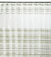 J. Queen New York Peek-A-Boo Shower Curtain Liner