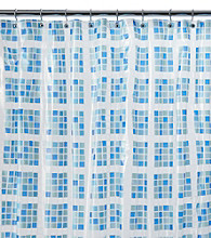 J. Queen New York Square-on-Square Shower Curtain Liner