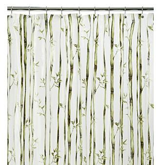 Product: J. Queen New York Bamboo Stripe Vinyl Shower Curtain Liner