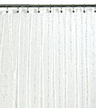 J. Queen New York Bubbles Embossed Vinyl Shower Curtain Liner