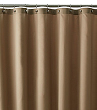 J. Queen New York Carlson Fabric Shower Curtain Liner