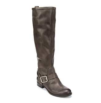 "Lucky Brand® ""May"" Casual Riding Boot - Smoked Pearl"