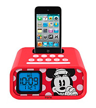 Disney™ Minnie Mouse iHome Dual Alarm Clock Speaker System