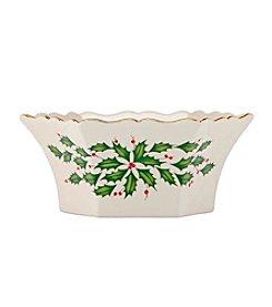 Lenox® Holiday Scalloped Bowl