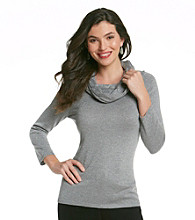 Anne Klein® Cowlneck Sweater