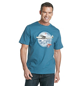 Paradise Collection® Men's Screen Print Tee - Total Teal