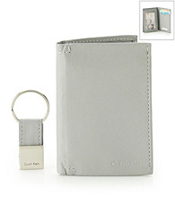Calvin Klein Men's L-Fold Wallet with Key Fob