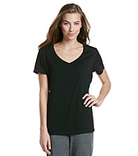 Jockey® Classic V-Neck Knit Top
