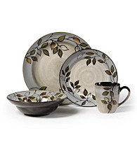 Pfaltzgraff® Rustic Leaves 16-pc. Place Setting