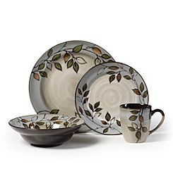 Pfaltzgraff® Rustic Leaves 16-pc. Dinnerware Set + FREE BONUS GIFT see offer details