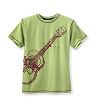 Ruff Hewn Boys' 8-20 Green Patina Short Sleeve Graphic Tee