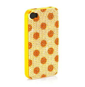 Greene + Gray™ Polka Dot Rhinestone iPhone® Cover