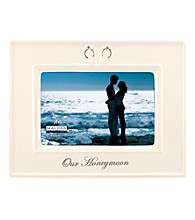 Malden Our Honeymoon Ceramic Frame