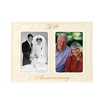 Malden 2-Opening 50th Anniversary Ceramic Frame