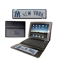 TNT Media Group New York Yankees Executive iPad Case with Keyboard