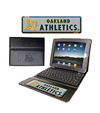 TNT Media Group Oakland Athletics Executive iPad Case with Keyboard