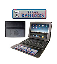 TNT Media Group Texas Rangers Executive iPad Case with Keyboard