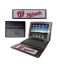 TNT Media Group Washington Nationals Executive iPad Case with Keyboard