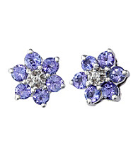 Effy® Tanzanite and Diamond Earrings