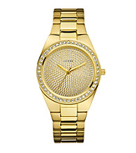 Guess Gold Sporty Radiance Watch