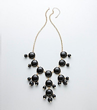 Erica Lyons® Long Cab Front Necklace