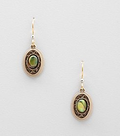 Silver Forest® Blue Abalone Earrings