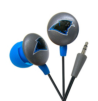 iHip Carolina Panthers Earbuds