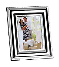 Towle® Wide Beaded Border Photo Frame