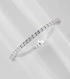 0.25 ct. t.w. Diamond Tennis Bracelet in Sterling Silver