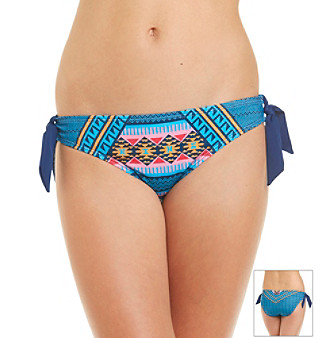 "Hurley® ""Mayan Stripe"" Tie Side Hipster Bottom"