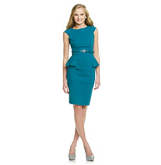 XOXO® Juniors' Peplum Sheath Dress