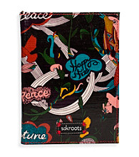 sakroots™by The Sak® Black Peace Print Artist Circle Journal