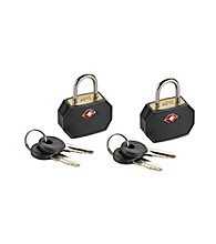 Lewis N. Clark® Black Mini Padlock Set