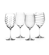 Mikasa® Set of 4 Cheers Red Wine Glasses