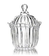 Crystal Clear® Alexandria Covered Candy Bowl