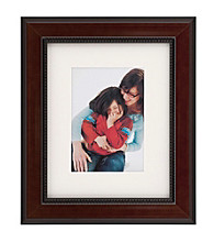 Burnes of Boston® Black and Brown Cambridge Matted Wood Frame