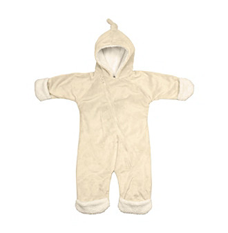 i play.® Baby Cream Soft and Snuggly Cuddlesuit