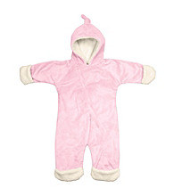i play.® Baby Girls' Pink Soft and Snuggly Cuddlesuit