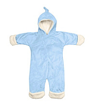 i play.® Baby Boys' Blue Soft and Snuggly Cuddlesuit