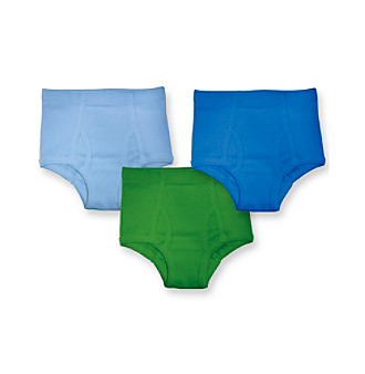 i play.® Boys' Blue/Green 3-pk. Assorted Briefs