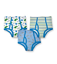 i play.® Boys' Blue 3-pk. Assorted Print Briefs