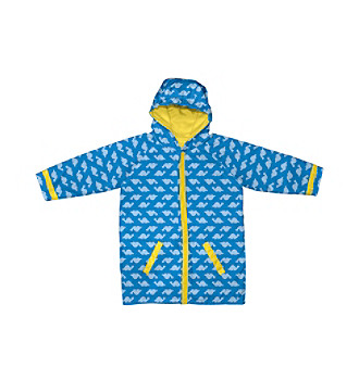 i play.® Boys' 6M-3T Blue Dinos Midweight Raincoat