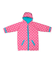 i play.® Girls' 6M-4T Pink Elephants Midweight Raincoat