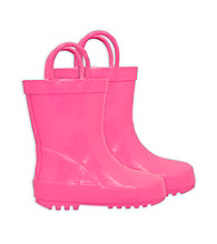 i play.® Girls' Rubber Rainboots - Pink