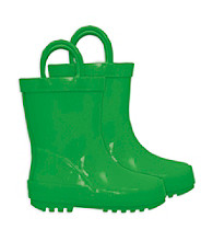 i play.® Kids' Rubber Rainboots - Green