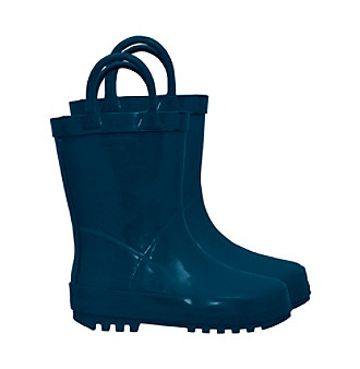 i play.® Kids' Rubber Rainboots - Navy