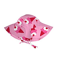 i play.® Girls' Pink Ice Cream Floppy Brim Sun Protection Hat