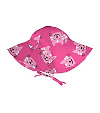 i play.® Girls' Pink Kitty Floppy Brim Sun Protection Hat